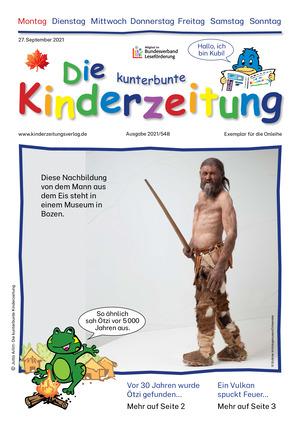 Die kunterbunte Kinderzeitung (27.09.2021)