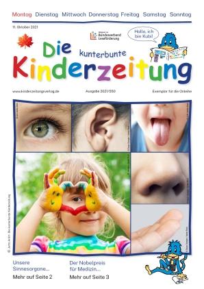 Die kunterbunte Kinderzeitung (11.10.2021)