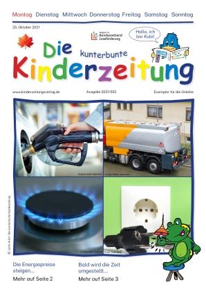 Die kunterbunte Kinderzeitung (25.10.2021)
