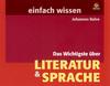 Das Wichtigste über Literatur & Sprache