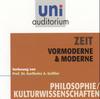 Zeit - Vormoderne & Moderne