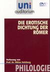 Vergrößerte Darstellung Cover: Die erotische Dichtung der Römer. Externe Website (neues Fenster)