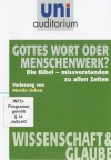Vergrößerte Darstellung Cover: Gottes Wort oder Menschenwerk?. Externe Website (neues Fenster)