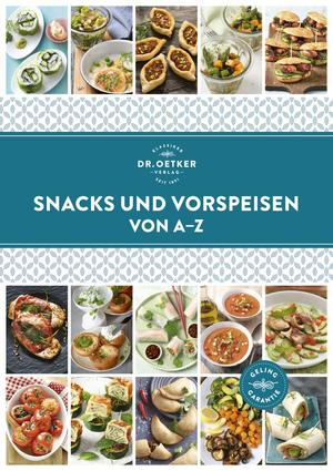Snacks und Vorspeisen von A-Z