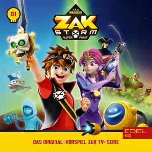 Folge 1: Captain Zak (Das Original-Hörspiel zur TV-Serie)
