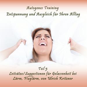 Autogenes Training Entspannung und Ausgleich für Ihren Alltag - Teil 5 Leitsätze / Suggestionen für Gelassenheit bei Lärm, Fluglärm