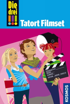 Die drei !!! : Tatort Filmset