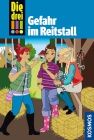 Vergrößerte Darstellung Cover: Die drei !!! - Gefahr im Reitstall. Externe Website (neues Fenster)
