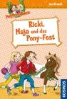 Vergrößerte Darstellung Cover: Ricki, Maja und das Pony-Fest. Externe Website (neues Fenster)