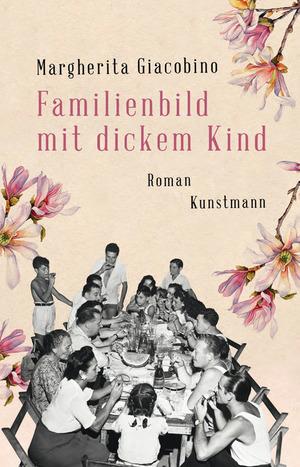 Familienbild mit dickem Kind