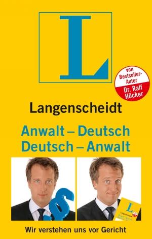 Langenscheidt Anwalt-Deutsch, Deutsch-Anwalt