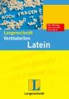 Vergrößerte Darstellung Cover: Langenscheidt Verbtabellen Latein. Externe Website (neues Fenster)