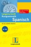 Vergrößerte Darstellung Cover: Langenscheidt Kurzgrammatik Spanisch. Externe Website (neues Fenster)
