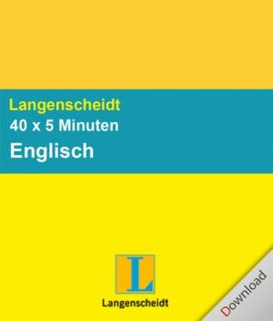 40 x 5 Minuten Englisch