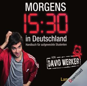 Morgens 15.30 in Deutschland