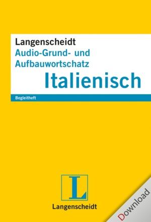 Langenscheidt Audio-Grund- und Aufbauwortschatz Italienisch