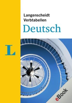 Langenscheidt Verbtabellen Deutsch
