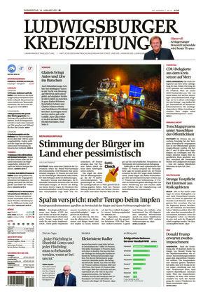 Ludwigsburger Kreiszeitung BOT (14.01.2021)