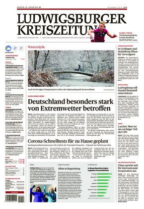 Ludwigsburger Kreiszeitung BOT (26.01.2021)