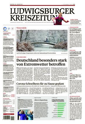 Ludwigsburger Kreiszeitung LKZ (26.01.2021)