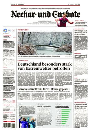 Ludwigsburger Kreiszeitung NEB (26.01.2021)