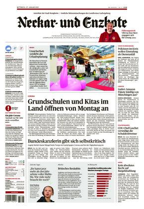 Ludwigsburger Kreiszeitung NEB (27.01.2021)