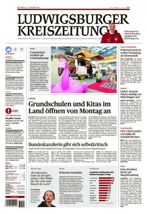 Ludwigsburger Kreiszeitung STR (27.01.2021)