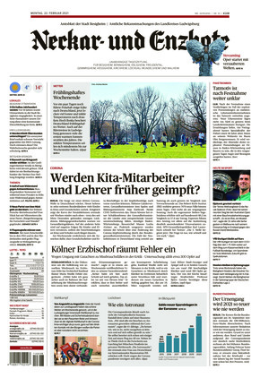 Ludwigsburger Kreiszeitung NEB (22.02.2021)