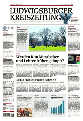 Ludwigsburger Kreiszeitung STR (22.02.2021)
