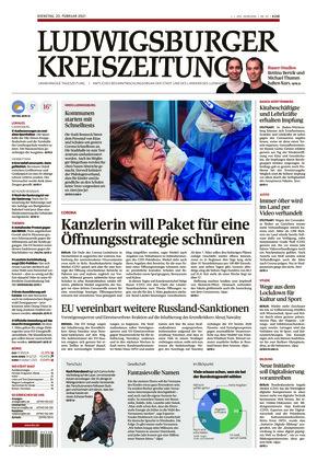 Ludwigsburger Kreiszeitung LKZ (23.02.2021)