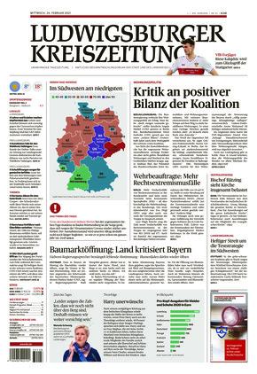 Ludwigsburger Kreiszeitung BOT (24.02.2021)