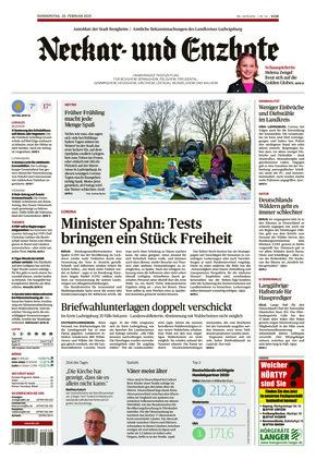 Ludwigsburger Kreiszeitung NEB (25.02.2021)