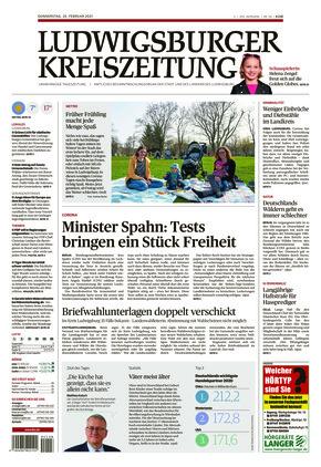 Ludwigsburger Kreiszeitung STR (25.02.2021)