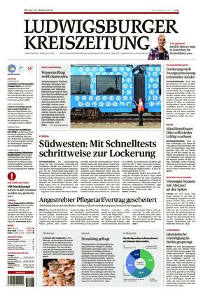 Ludwigsburger Kreiszeitung LKZ (26.02.2021)