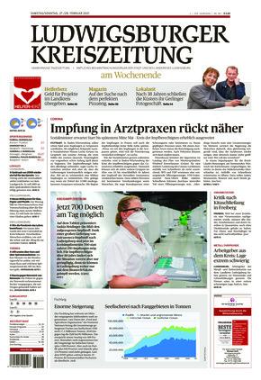 Ludwigsburger Kreiszeitung STR (27.02.2021)
