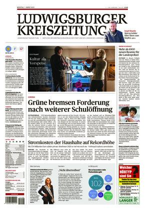 Ludwigsburger Kreiszeitung STR (01.03.2021)