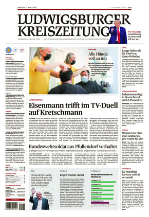 Ludwigsburger Kreiszeitung LKZ (02.03.2021)