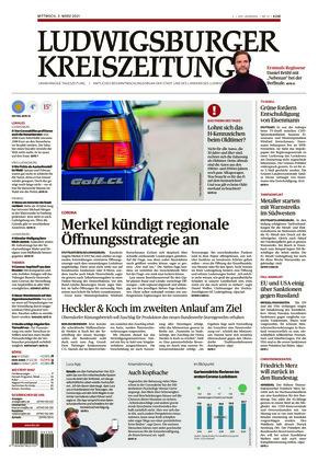 Ludwigsburger Kreiszeitung STR (03.03.2021)