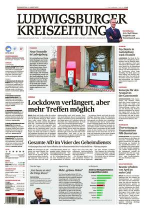 Ludwigsburger Kreiszeitung LKZ (04.03.2021)
