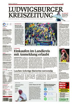 Ludwigsburger Kreiszeitung STR (08.03.2021)