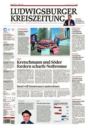 Ludwigsburger Kreiszeitung LKZ (01.04.2021)