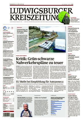 Ludwigsburger Kreiszeitung BOT (08.04.2021)