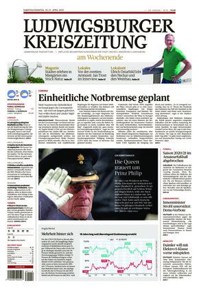 Ludwigsburger Kreiszeitung STR (10.04.2021)