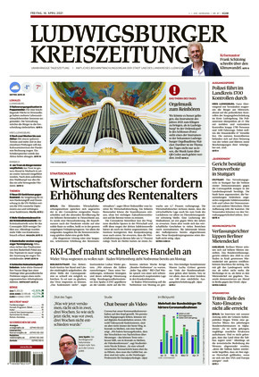Ludwigsburger Kreiszeitung LKZ (16.04.2021)