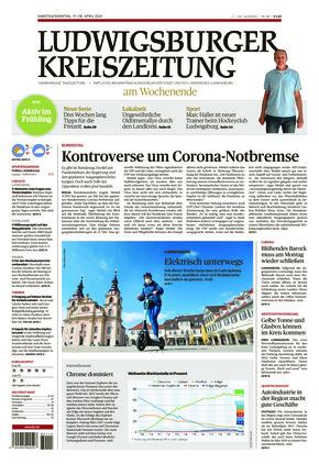 Ludwigsburger Kreiszeitung LKZ (17.04.2021)
