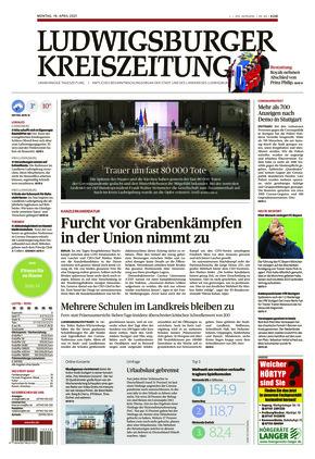 Ludwigsburger Kreiszeitung BOT (19.04.2021)