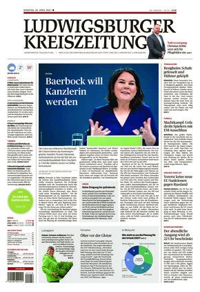 Ludwigsburger Kreiszeitung BOT (20.04.2021)