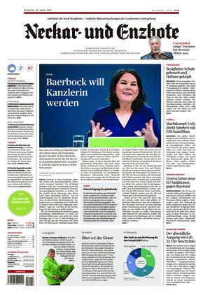 Ludwigsburger Kreiszeitung NEB (20.04.2021)