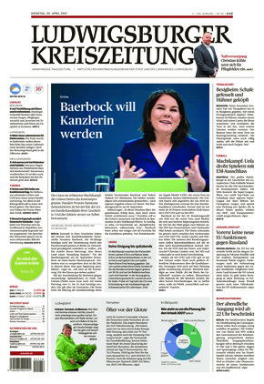 Ludwigsburger Kreiszeitung STR (20.04.2021)