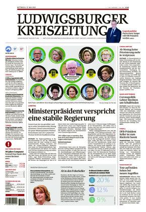 Ludwigsburger Kreiszeitung BOT (12.05.2021)